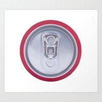 Drink can Art Print