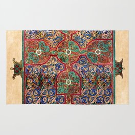 Book Of Durrow Carpet Page II Rug