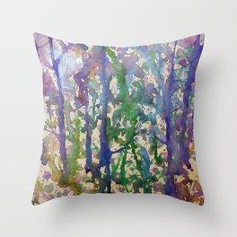 Forest 2 Throw Pillow