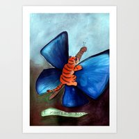 Let Art Be Your Butterfly Art Print