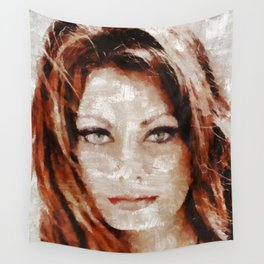 Sophia Loren, Actress Wall Tapestry