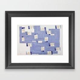 bewbs Framed Art Print