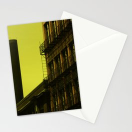 Old factory, Lowell Stationery Cards