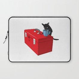 Chat Noir Beverage Tipper Laptop Sleeve
