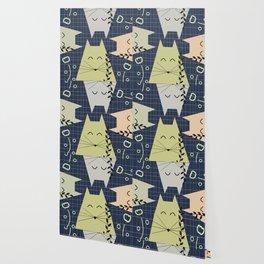 A few happy cats Wallpaper