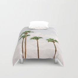 Palm Springs Palm Trees Duvet Cover
