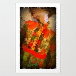 Summer Of Love: Party Girl Art Print