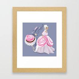 French Meringue with Strawberry Ganache Framed Art Print