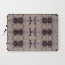 Vintage Floral Shibori Laptop Sleeve