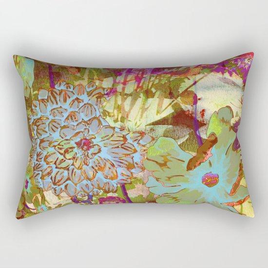 from the garden Rectangular Pillow