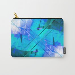 Vaporwave - Geometric Abstract Art Carry-All Pouch