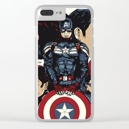 winter soldier Clear iPhone Case