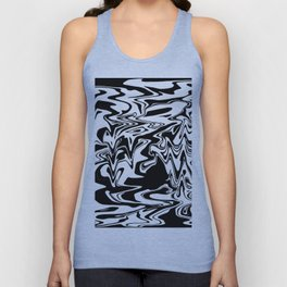 snow and shadow, abstract Unisex Tank Top