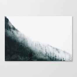 Foggy PNW Canvas Print