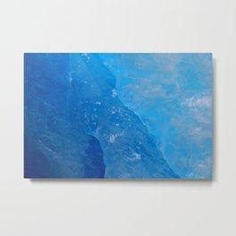 glacial ice 3 Metal Print