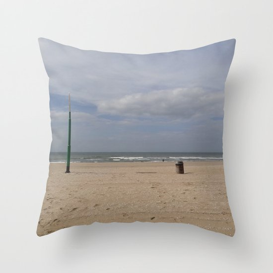 The Bin and the Latern Throw Pillow