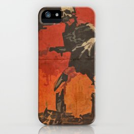 Do Your Part to Stop the Zombie Uprising iPhone Case