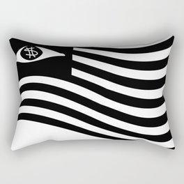 Rebel Scum Flag Rectangular Pillow