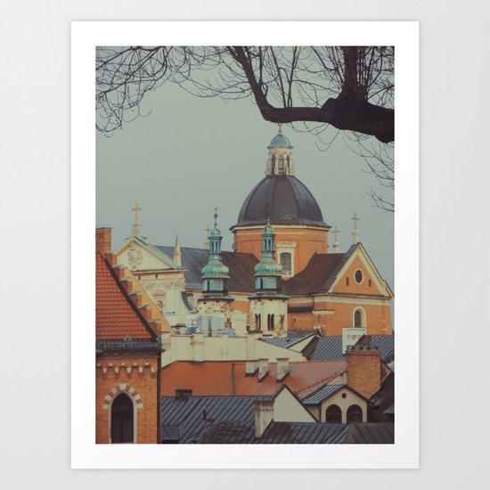 Krakow Art Print