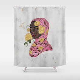 Floral Arrangements: Peony Shower Curtain