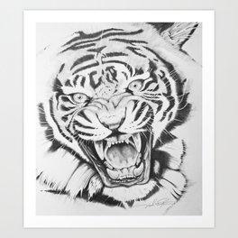 Aggression Art Print