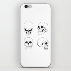 Skulling around - skeleton iPhone & iPod Skin