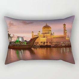 Omar Ali Saifuddien Mosque, Brunei. Rectangular Pillow