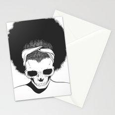 SKull GIrls 2 - Sky Teal Stationery Cards