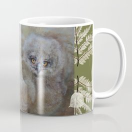 Eagle owls nest Coffee Mug