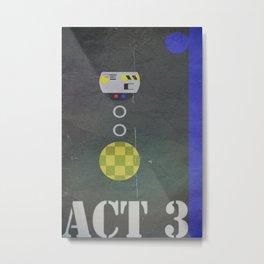 Act 3 Metal Print