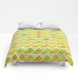 Tiny triangles pattern Comforters