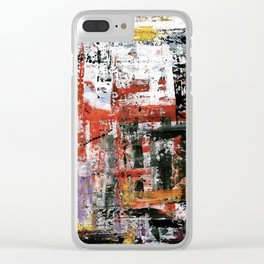 When I close my eyes! Clear iPhone Case