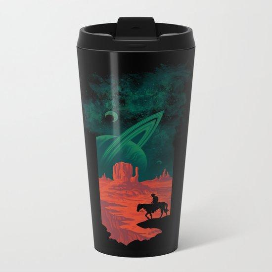 Final Frontiersman Metal Travel Mug