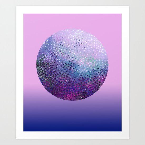 Galatic Sphere Art Print