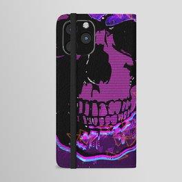 Skull iPhone Wallet Case