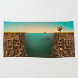 Time Beach Towel