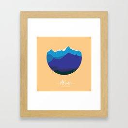 Mount Scott (explore Oklahoma series) Framed Art Print