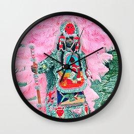 Big Chief Pretty Wall Clock