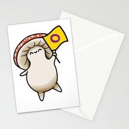 Intersex Pride Mushy Stationery Cards
