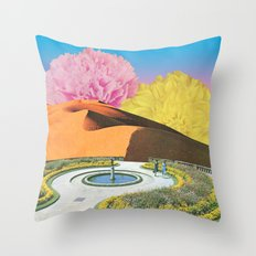 Yearning for Spring Throw Pillow