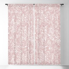 crisscross-pink Blackout Curtain