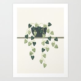 Abstract Vase 6 Art Print