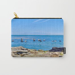 Coastal Pelicans Carry-All Pouch