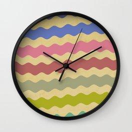 Shabby Shores Wall Clock