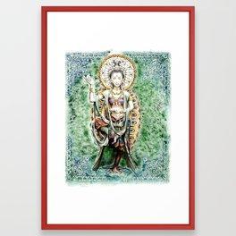 Quan Jin Framed Art Print