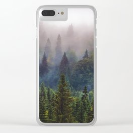 Wander Progression Clear iPhone Case