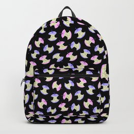 Neon apples black Backpack