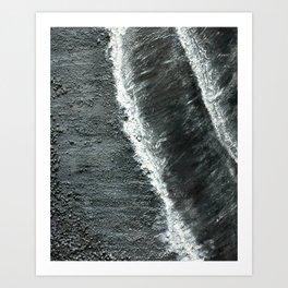 Black Sands of Iceland (2) Art Print