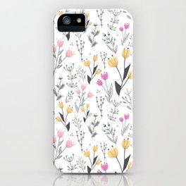 The Cute Floral Pattern II iPhone Case