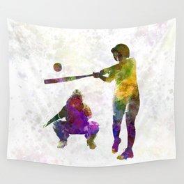 baseball players 02 Wall Tapestry
